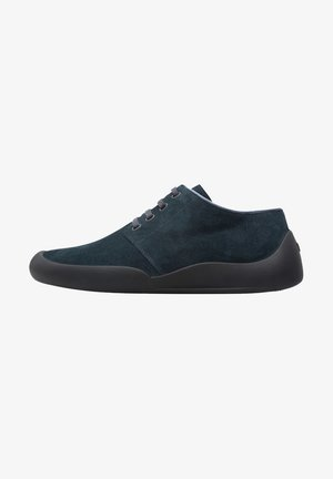 Casual lace-ups - grey/evergreen