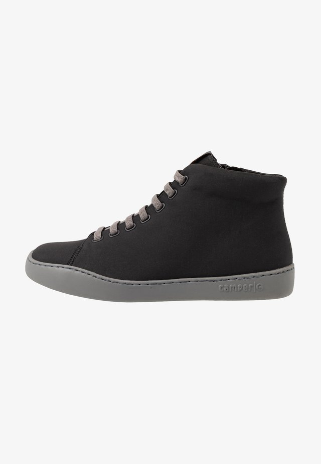 PEU TOURING - Höga sneakers - black