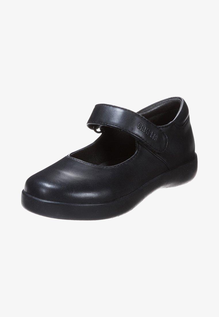 Camper - SPIRAL COMET - Ankle strap ballet pumps - black