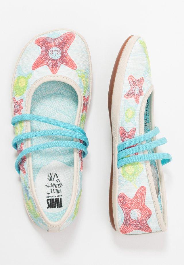 RIGHT KIDS TWINS - Ankle strap ballet pumps - multicolor