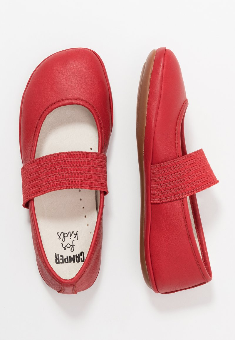 Camper - RIGHT KIDS - Ankle strap ballet pumps - red