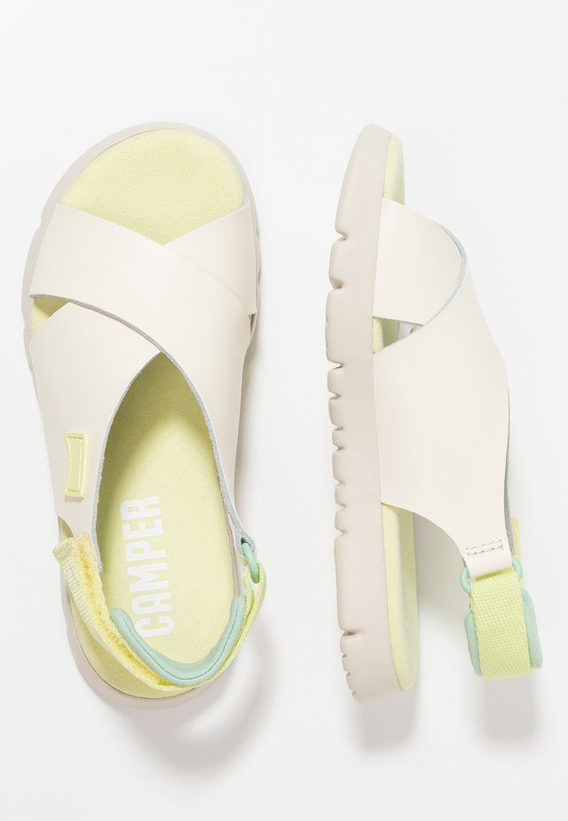 MIRA - Sandalias - light beige