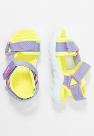WOUS KIDS - Sandalias - purple
