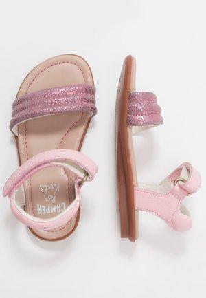 RIGHT KIDS - Sandaalit nilkkaremmillä - pink
