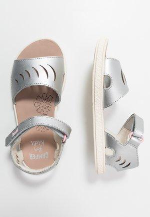 MIKO KIDS - Sandals - silver