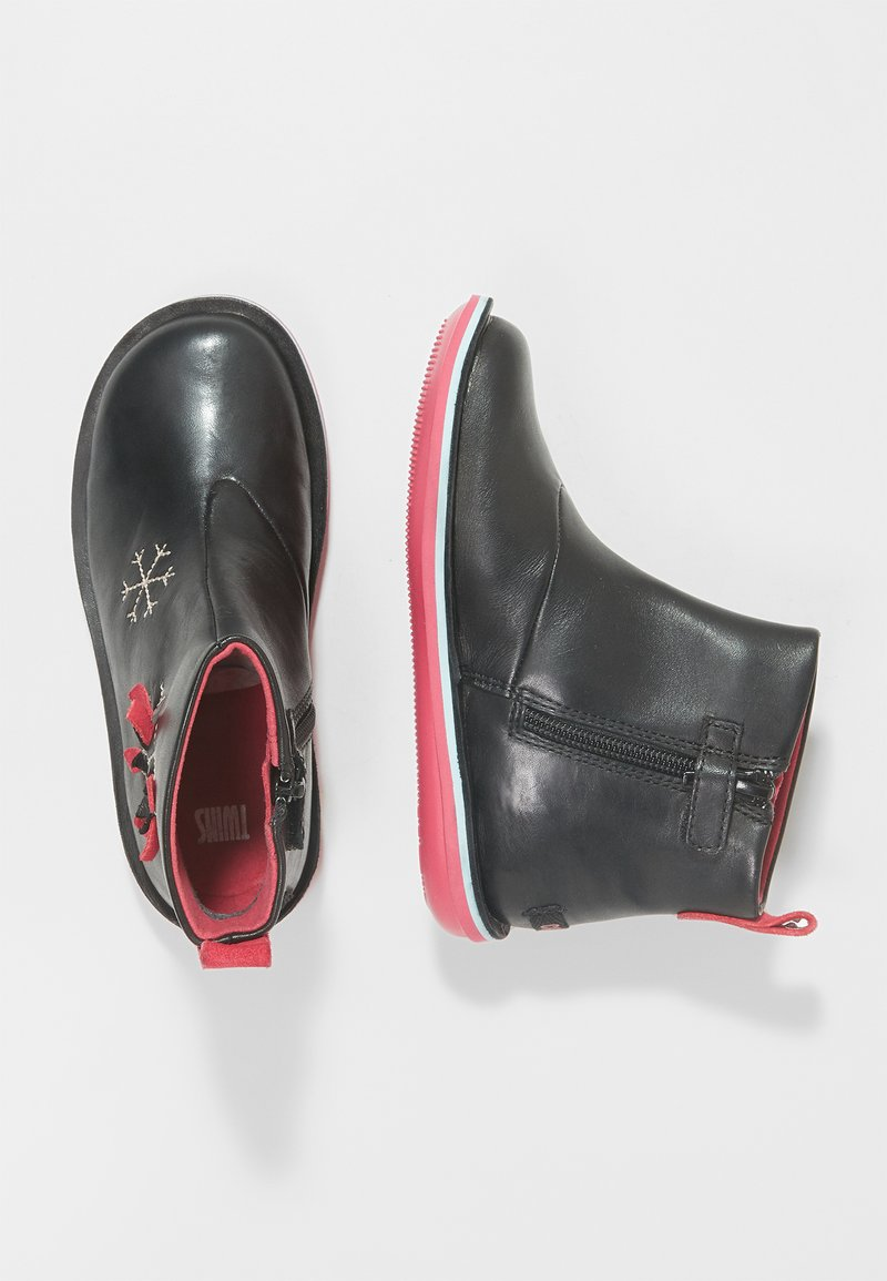 Camper - KIDS - Stiefelette - black/pink