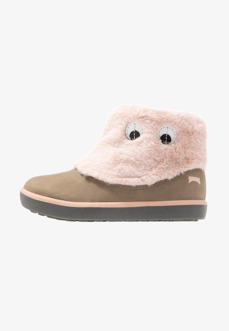 Camper - Korte laarzen - grey/pink