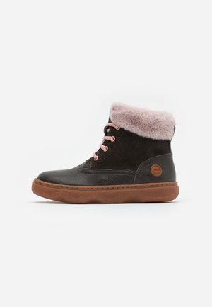 KIDO KIDS - Lace-up ankle boots - dark gray