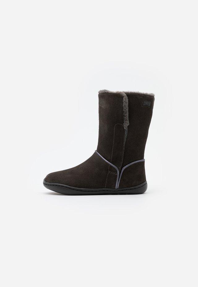 PEU CAMI  - Zimní obuv - dark gray