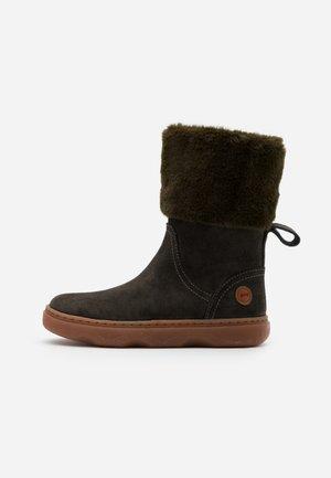 KIDO KIDS - Winter boots - dark green