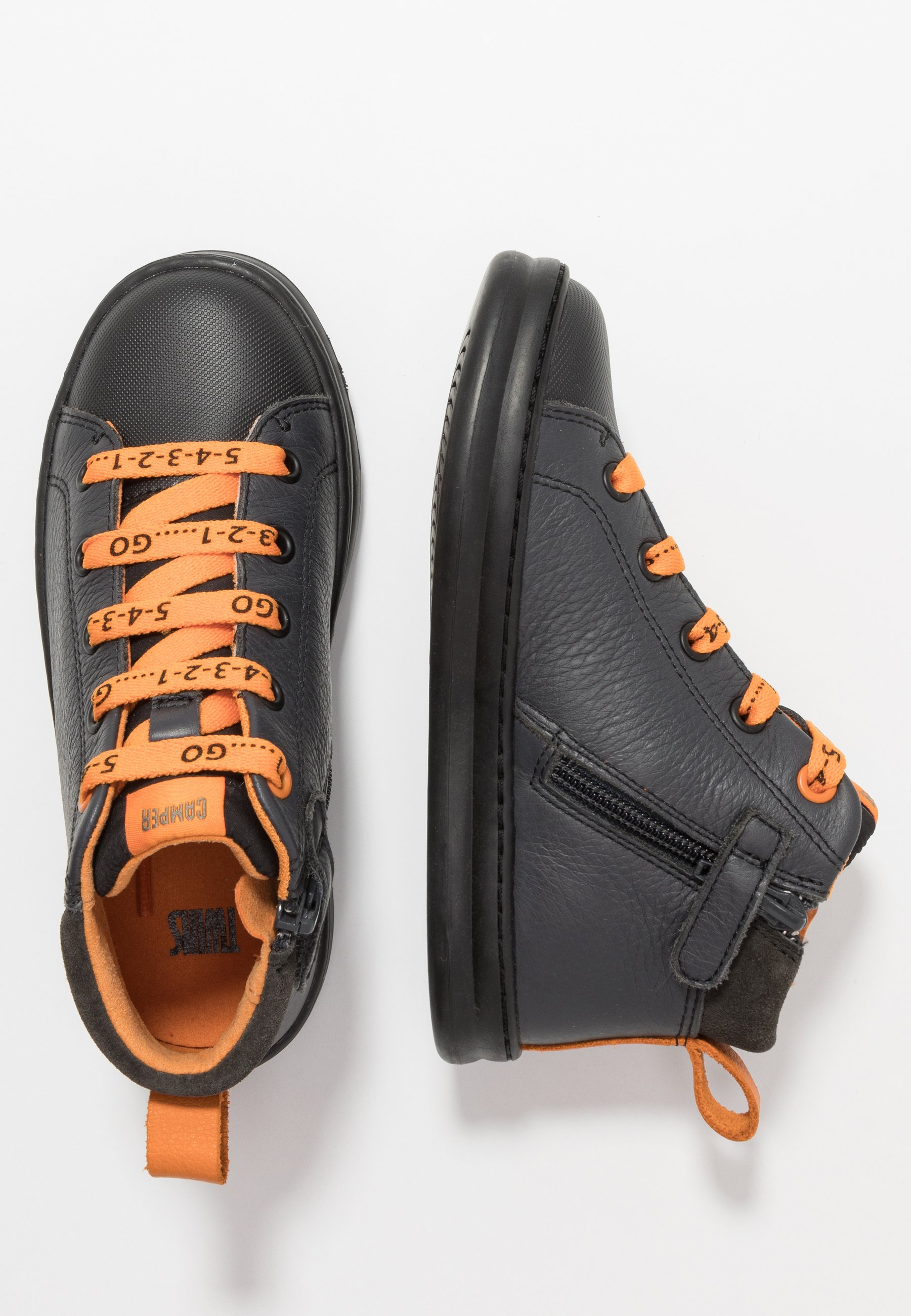 KIDS Sneakers hoog black