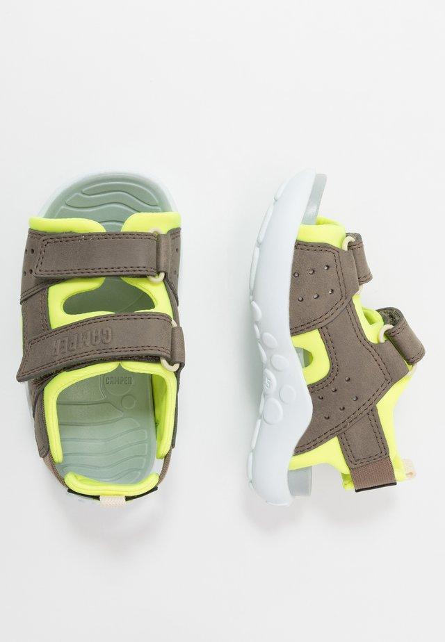 WOUS KIDS - Sandalias de senderismo - khaki