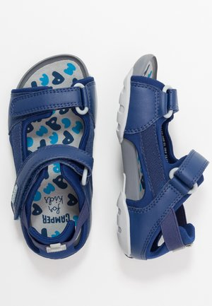 OUS KIDS - Walking sandals - navy