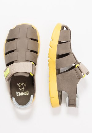 ORUGA KIDS - Sandály - medium grey