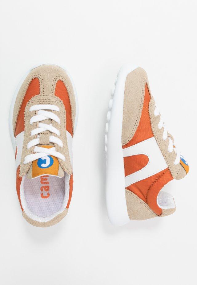 DRIFTIE KIDS - Sneaker low - beige/orange