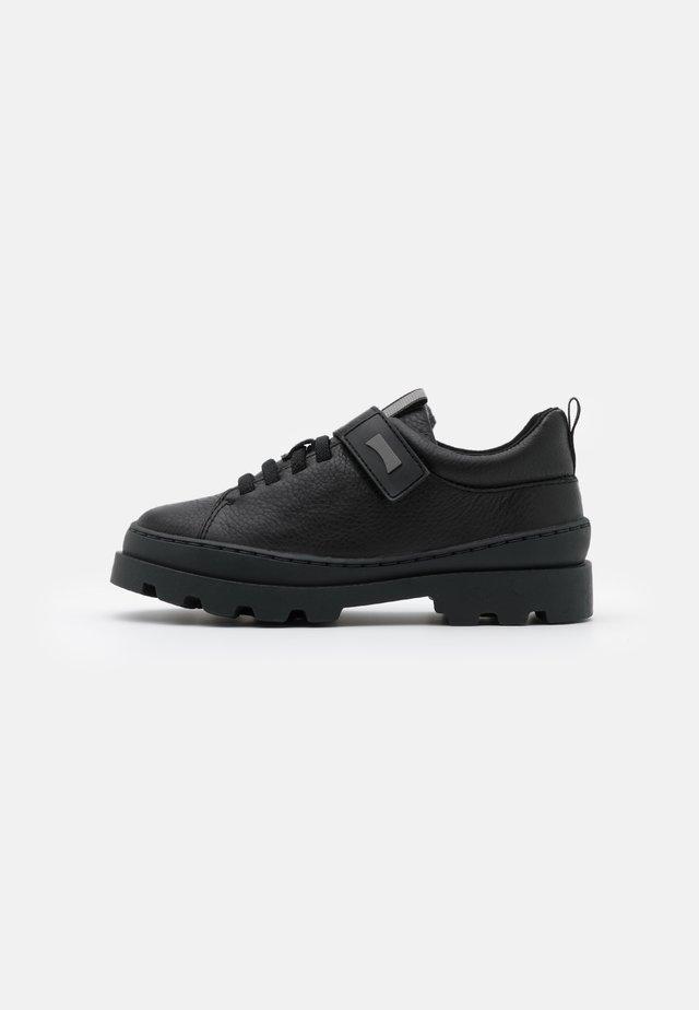 BRUTUS KIDS - Zapatos con cierre adhesivo - black