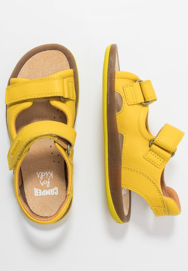 BICHO KIDS - Sandalias - yellow