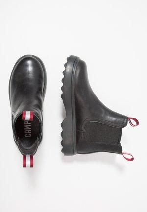 NORTE KIDS - Kotníkové boty - black