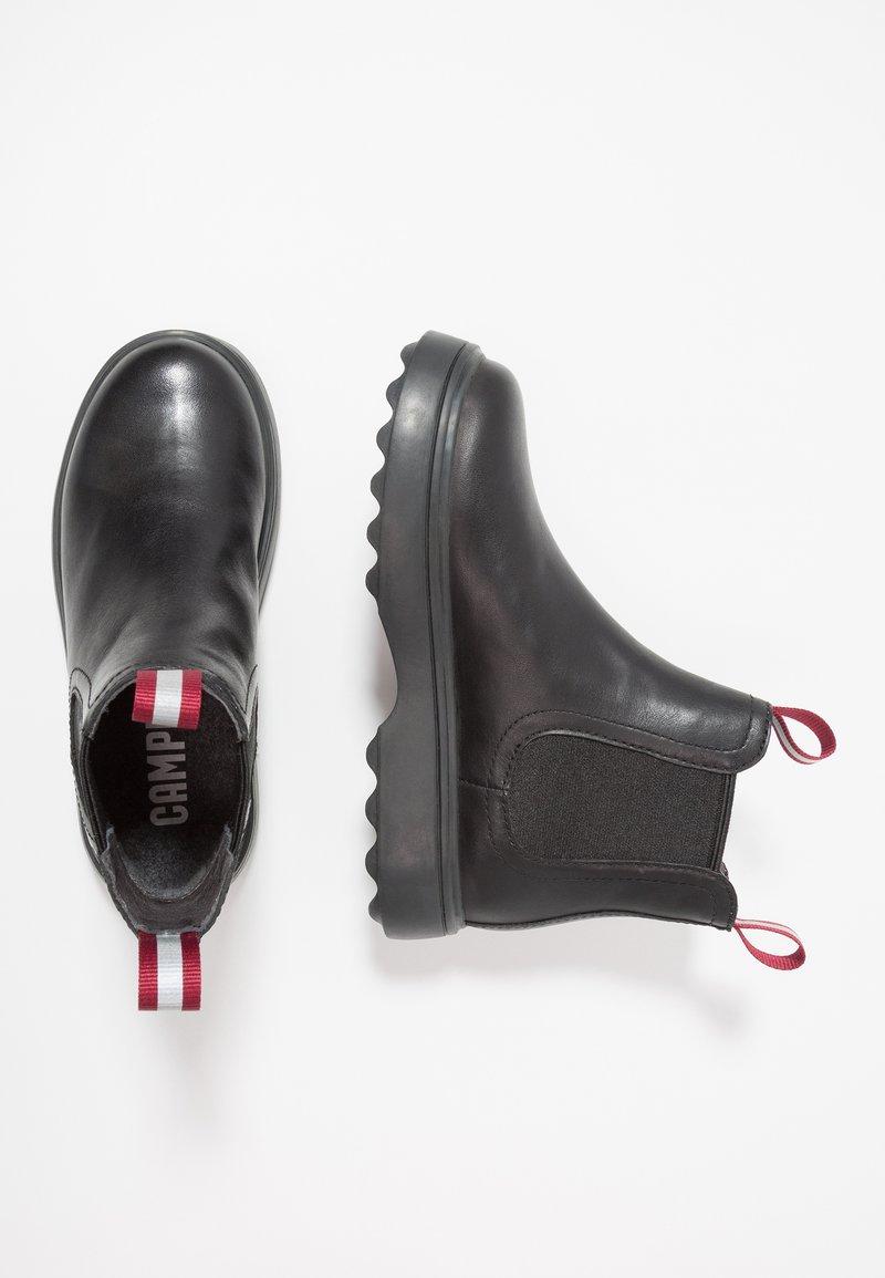 Camper - NORTE KIDS - Kotníkové boty - black