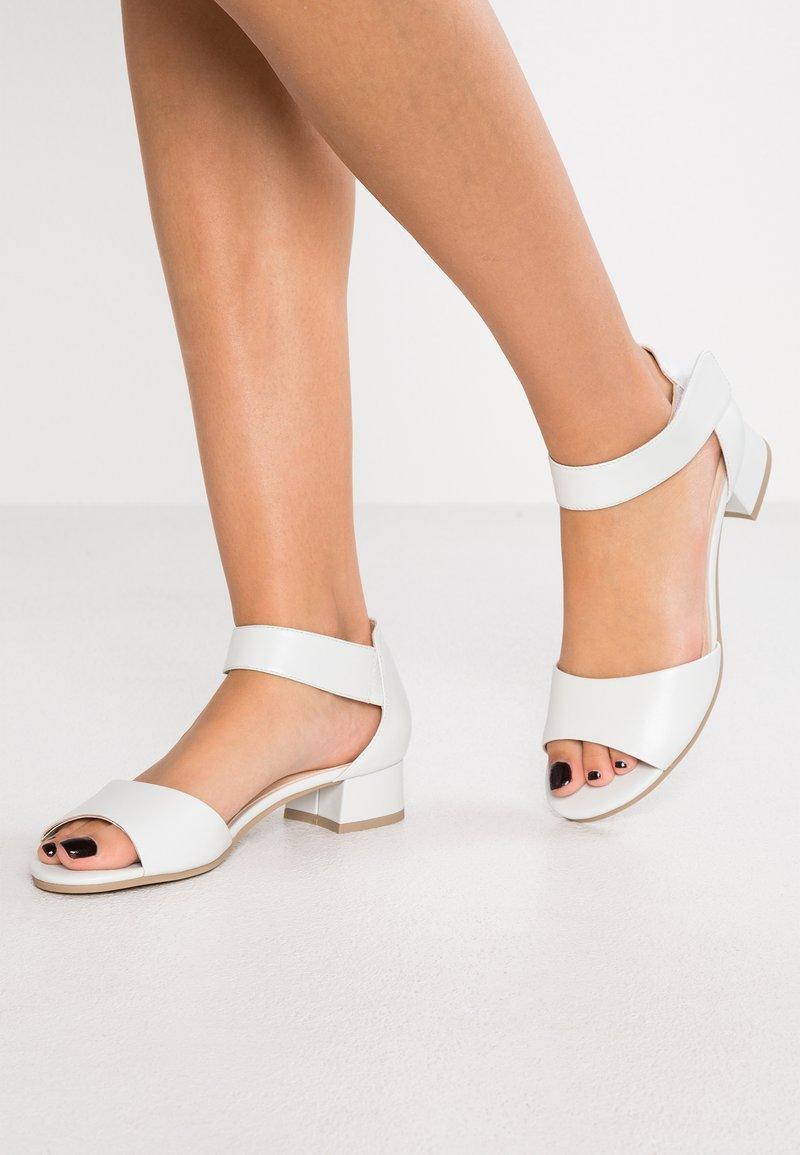 Caprice - Sandals - white perlato