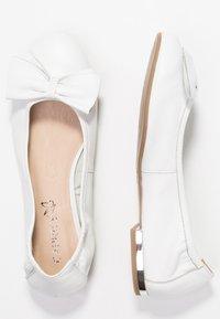 Caprice - Ballet pumps - white - 3