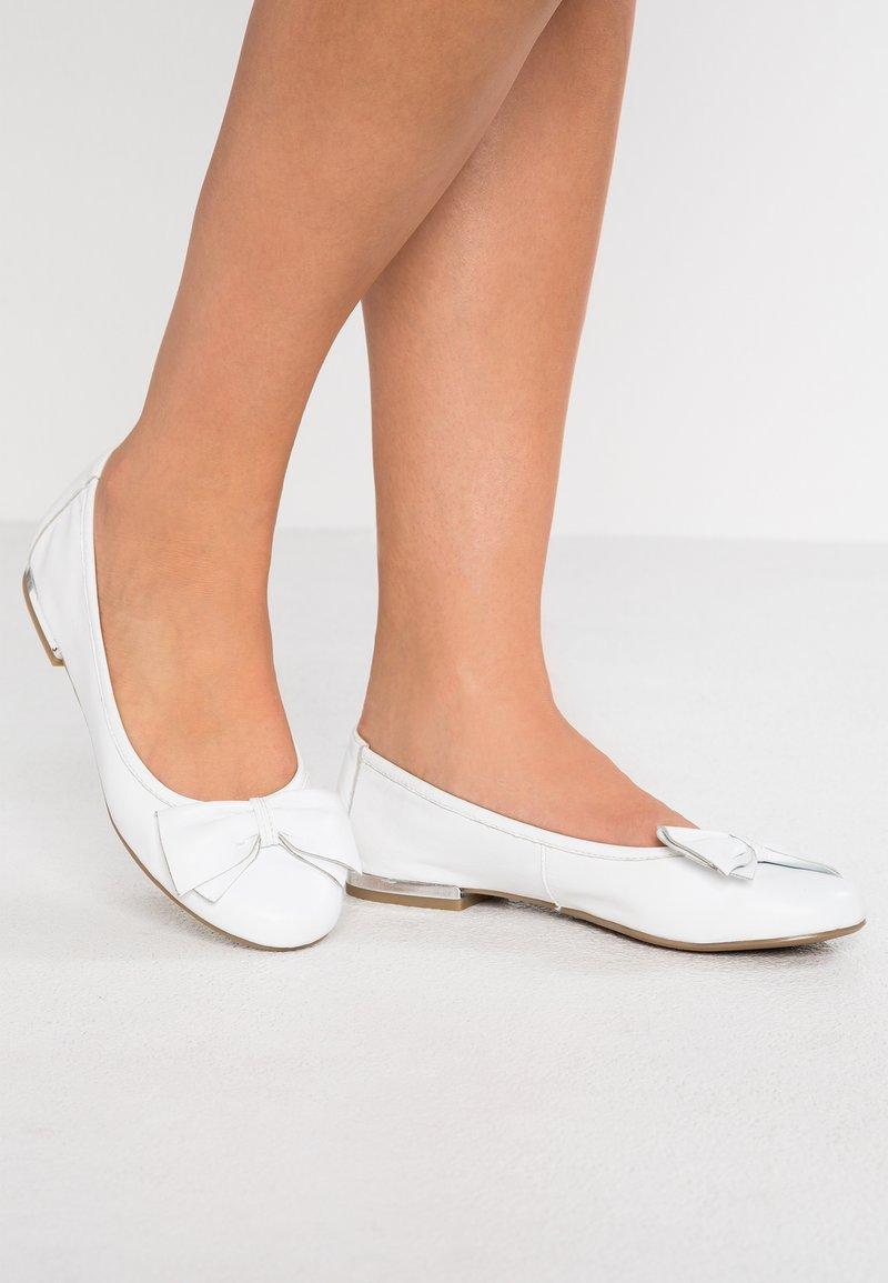 Caprice - Ballet pumps - white