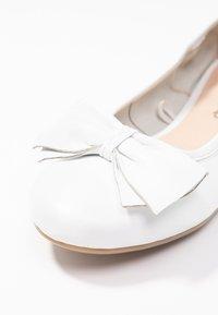 Caprice - Ballet pumps - white - 2
