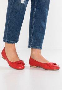 Caprice - Ballet pumps - red - 0