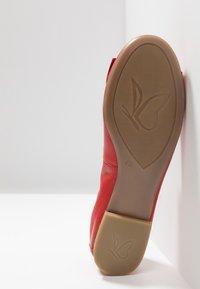 Caprice - Ballet pumps - red - 6