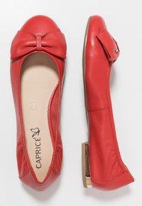 Caprice - Ballet pumps - red - 3