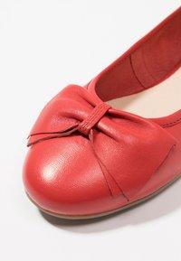 Caprice - Ballet pumps - red - 2
