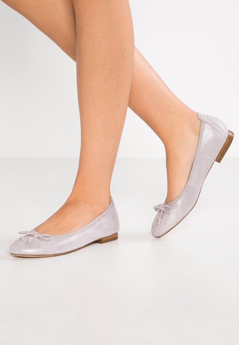 Caprice - Bailarinas - soft pink metallic
