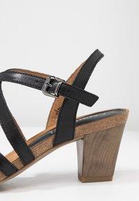 Caprice - Sandales - black - 2