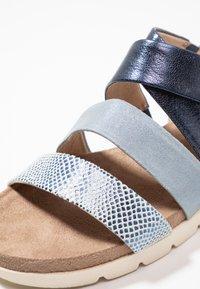Caprice - Platform sandals - blue - 2