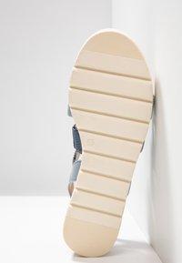 Caprice - Platform sandals - blue - 6