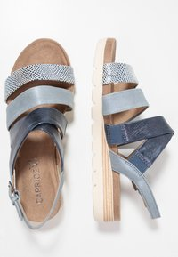 Caprice - Platform sandals - blue - 3