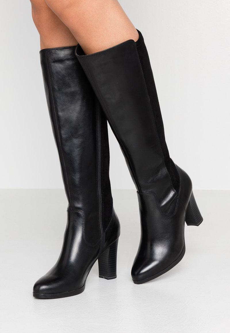 Caprice - Boots med høye hæler - black