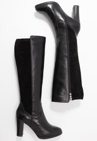 Caprice - Boots med høye hæler - black - 3