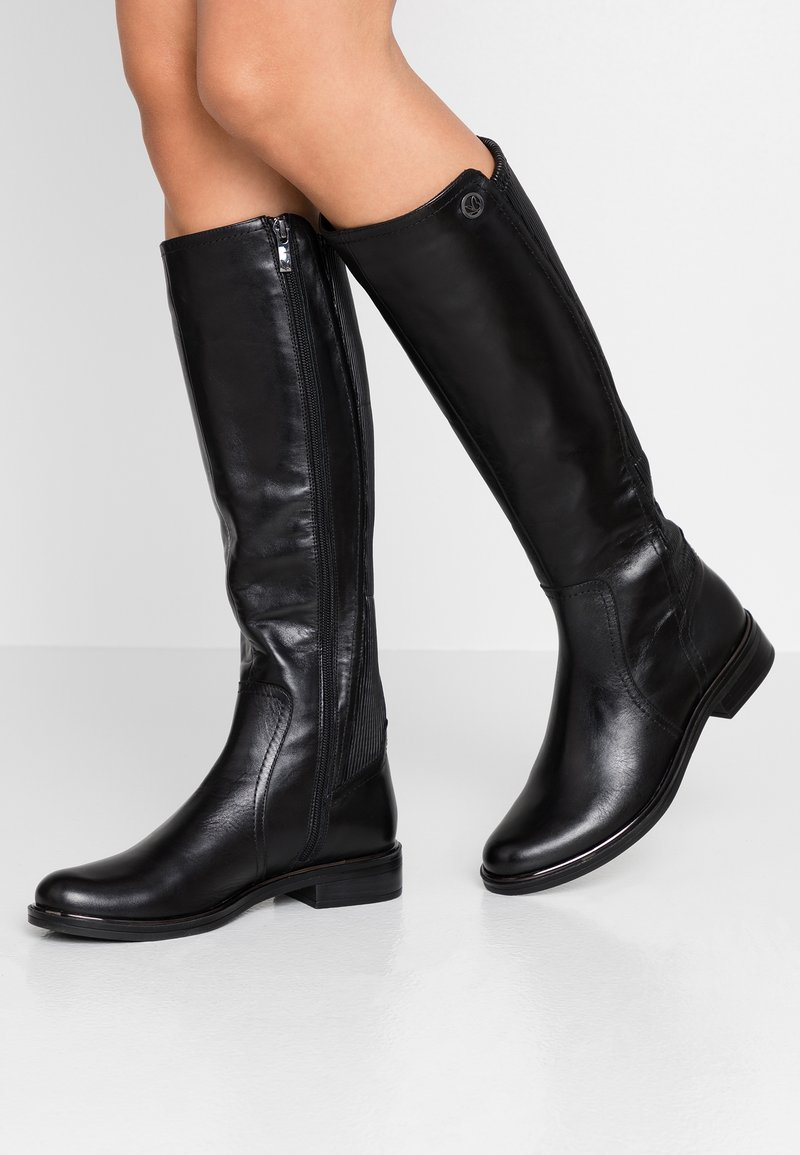 Caprice - Vysoká obuv - black