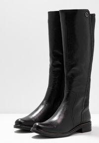Caprice - Vysoká obuv - black - 4
