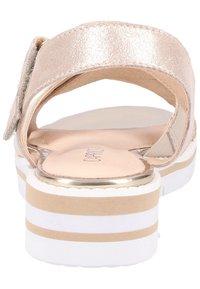 Caprice - Wedge sandals - beige - 5