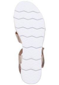 Caprice - Wedge sandals - beige - 6