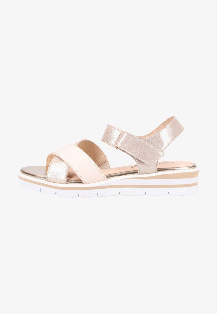 Caprice - Wedge sandals - beige