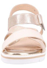 Caprice - Wedge sandals - beige - 4