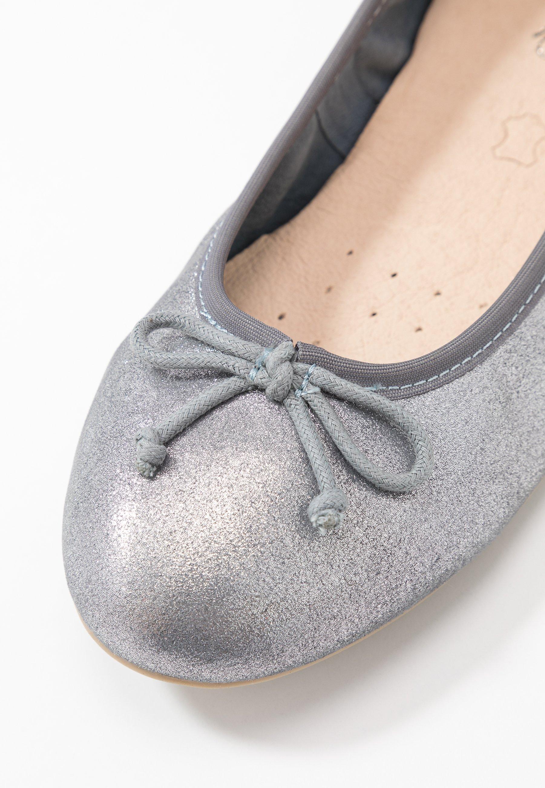 Caprice Ballerinaskor - silver metallic