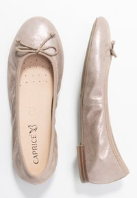 Caprice - Ballet pumps - light gold metallic - 3