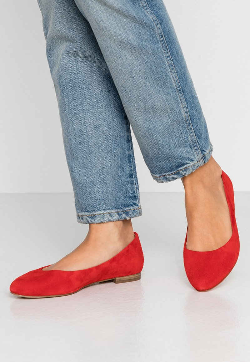 Caprice - Ballet pumps - red