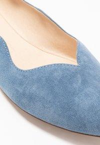 Caprice - Ballerina's - blue - 2