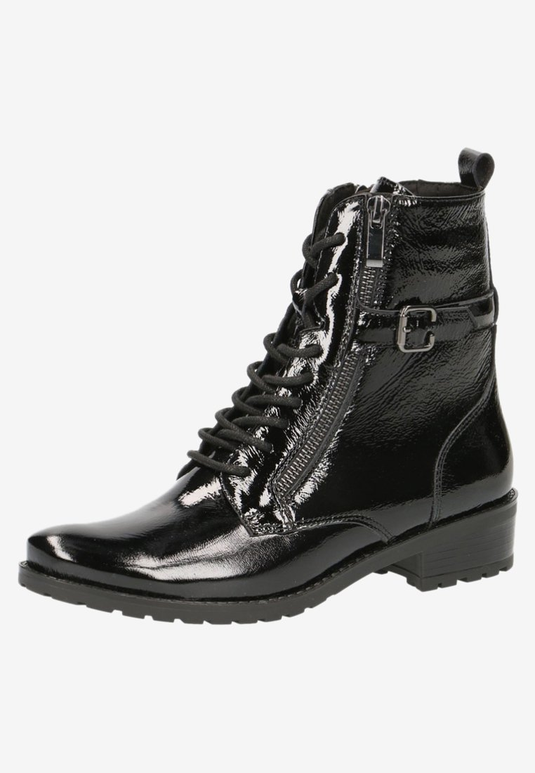 Caprice STIEFELETTE - Bottines à lacets black