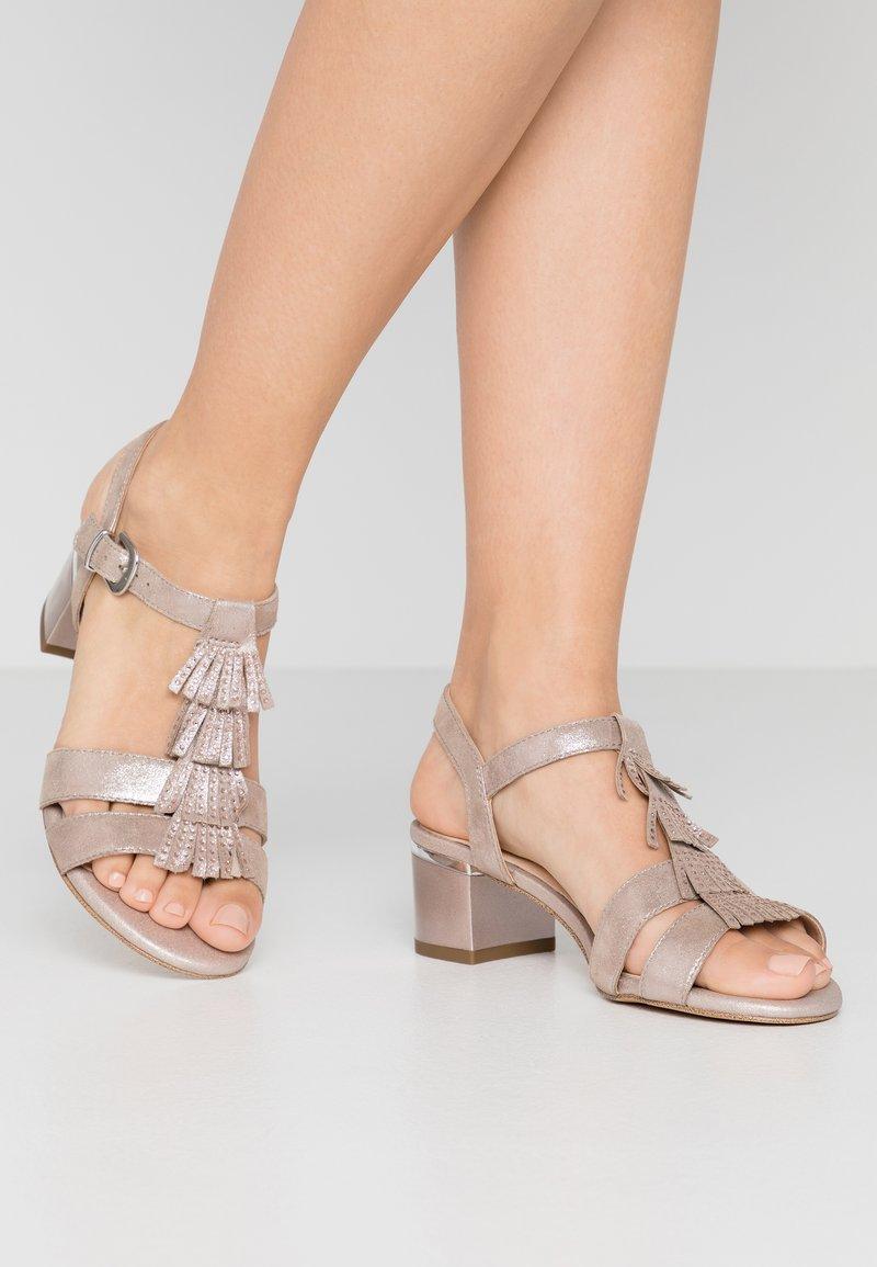 Caprice - Sandály - taupe metallic